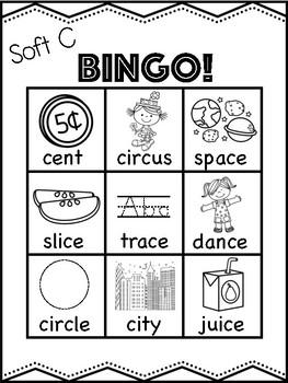 Soft C Bingo [10 playing cards]