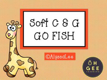 Soft C & G Giraffe Go Fish- Orton Gillingham