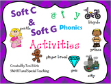 Orton Gillingham Soft C and G Phonics Activities for Smart