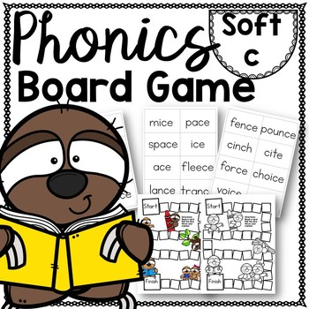 Soft C Phonics Board Game