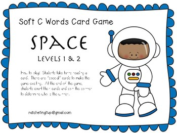 Soft C Word Game - Space
