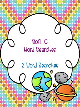 Soft C Word Searches!
