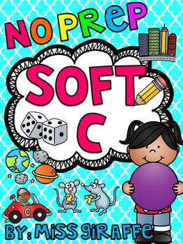 Soft C Worksheets & Activities {NO PREP!}