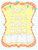 Soft C and G Bundle {Word Work}