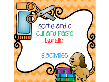 Soft C and G Cut and Paste Bundle! {6 activities}