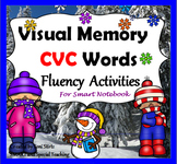 Winter Smart Notebook CVC Reading Fluency Activities