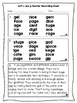 Soft C and G - Phonics Fluency Assessment