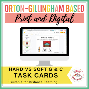 Soft C and G Task Boxes (Orton-Gillingham Based)