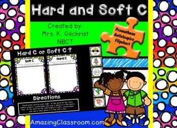 Soft C and Hard C Promethean ActivInspire Flipchart Lesson