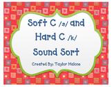 Soft C and Hard C Word Sort