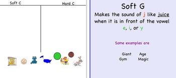 Soft C and Soft G
