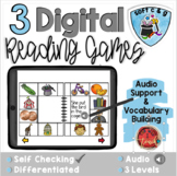 Soft C and Soft G:  Digital Reading Activities - Distance
