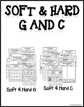 Soft C and Soft G Word Work