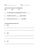 Soft C and Soft G Worksheet