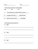 Soft C and Soft G Worksheet
