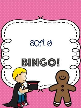 Soft G Bingo [10 playing cards]