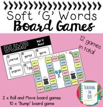 Soft G Board Games *FREEBIE*
