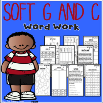 Soft G & C Word Work Printables