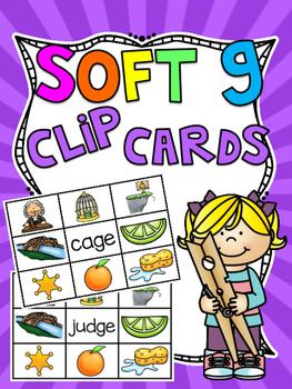 Soft G Center Clip Cards