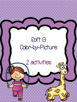 Soft G Color-by-Picture
