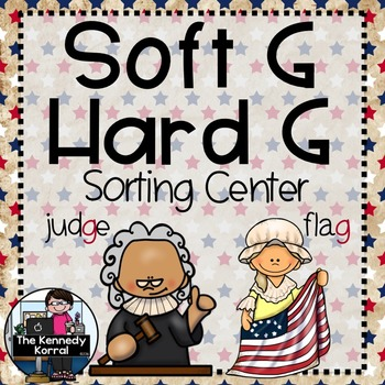 Word Work: Soft G - Hard G