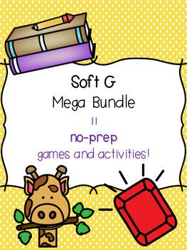 Soft G Mega Bundle! [11 no-prep games and activities]