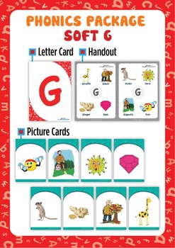 Soft 'G' Phonics Resource Package