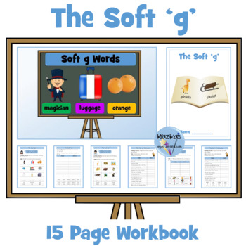 Soft G: Set of 14 Differentiated Worksheets