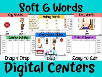 Soft G Words Digital Centers