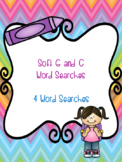 Soft G and C Word Search Bundle! {4 word searches}