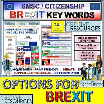 Soft Hard No Deal Brexit Options and EU