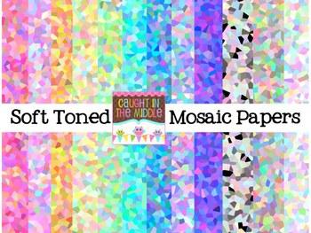 Soft Mosaic Backgrounds