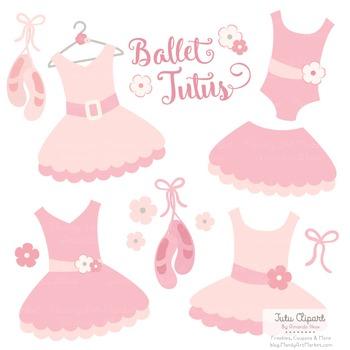 Soft Pink Ballet Clipart - Ballet Tutus, Ballet Clipart