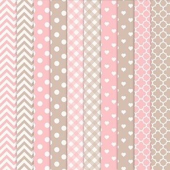 Soft Pink Vector Owls & Papers - Baby Owl Clipart, Owl Clip Art, Baby Owls