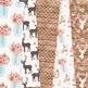 Soft Pink Wedding Digital Paper - Romantic Wedding Seamless Patterns