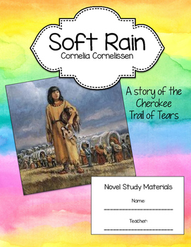 Soft Rain Novel Reading Unit