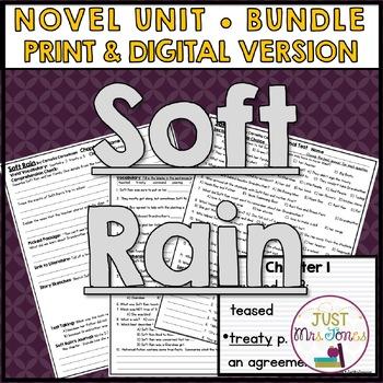 Soft Rain Novel Unit
