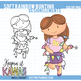 Soft Rainbow Bunting Banner Clip Art, Bunting Clipart Banners