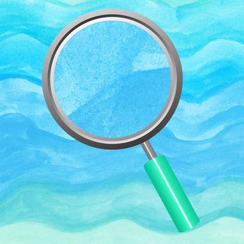Soft Seas Blue Handpainted Watercolor Waves Clip Art / Digital Papers