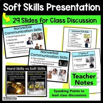 Career Exploration Soft Skills Development EDITABLE