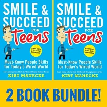 Transition Skills Curriculum, Social Skils, Job Skills, Manners 2 Book Bundle