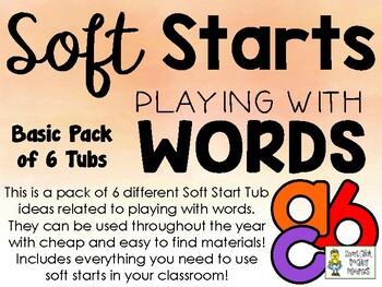 Soft Start Activities & Worksheets | Teachers Pay Teachers