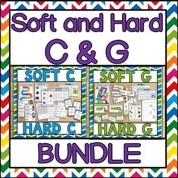 Soft and Hard C & G Phonics BUNDLE