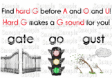 Soft and Hard C and G Flashcards