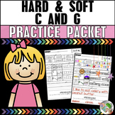 Hard and Soft C and G Worksheets Freebie