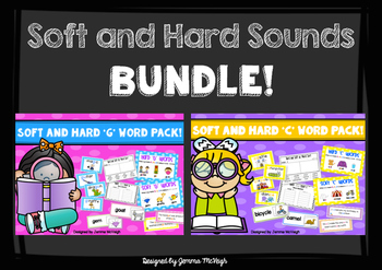 Soft and Hard C and G sounds BUNDLE  ~ Miss Mac Attack ~