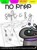 No Prep! Soft c & Soft g Worksheets