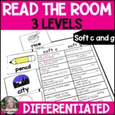 Soft c and Soft g Read the Room Write the Room Differentiated