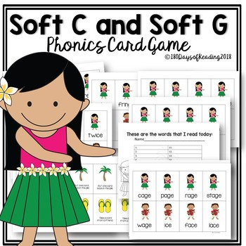 SOFT C AND SOFT G Review Game.  Great for the end of the year!