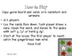 Soft or Hard G Gingerbread Story Board Game and Sort (Orto